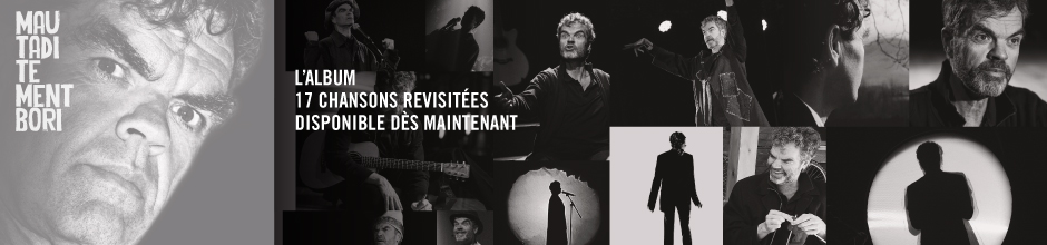 Mautaditement Bori – l'album : maintenant disponible