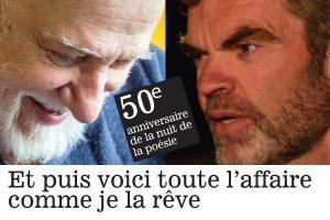 Garneau/Bori | 50e anniversaire de la Nuit de la poésie @ Théâtre Outremont