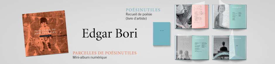 Lancement du recueil Poésinutiles et du mini-album numérique Parcelles de Poésinutiles
